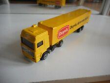 "Majorette Volvo Truck + Trailer ""Duyvis"" in Yellow"