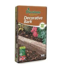 Durstons Decorative Bark 50 Litres Gardening Decorative Borders Growing