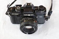 Minolta X-700 + Minolta MD 50mm F/1:7