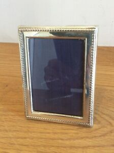 Solid Silver Mounted Photo Frame Ship Worldwide