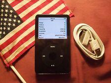 MINT iPod Video 5th 5.5th Gen 256GB 20000 tracks*MADE IN USA* >240GB/160GB/120GB