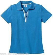 VW Golf - Damen Polo-Shirt / Poloshirt - M - Blau - NEU