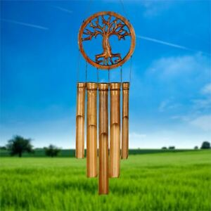 Woodstock Chimes Bamboo Chime - Tree of Life Bamboo Chime - CTOL