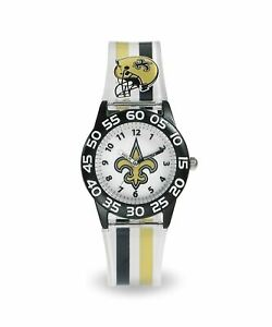 New Orleans Saints Kids Time Teacher Watch for ages 3+