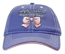 New Simply Southern Tees T-shirt Co. Hat NWT Bow Logo Embroidered Baseball Cap