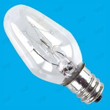 2x 7W E12 CES MINIATURA LUCE LAMPADINE L=53mm,W=22mm,Viti Di Diametro 12mm,MINI