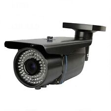 Hd 1800Tvl Sony Cmos Sensor 2.8-12mm zoom Lens 72Irut Bullet Security Camera