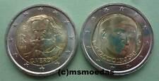 Italien 2x2 Euro Gedenkmünzen 2013 Verdi+Boccaccio Euromünzen commemorative coin