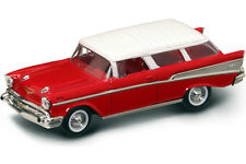 New In Box 1/43 Diecast 1957 Red Chevrolet/ Chevy Nomad for MTH,Lionel & K-Line