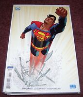 SUPERMAN #1 HUGHES VARIANT DC COMICS BENDIS MAN OF STEEL 2018