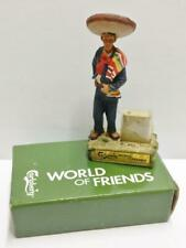 Unused Vintage Carlsberg Mexican Man Costume Lighter Display In Box (A2156) *2