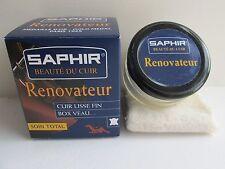 SAPHIR BEAU DE CUIR RENOVATEUR 50ML CONDITIONS & PROTECTS LEATHER, RENOVATOR