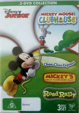 Mickey Mouse Club House: 3 DVD Collection (DVD, 3 Discs) Region 4 - VGC