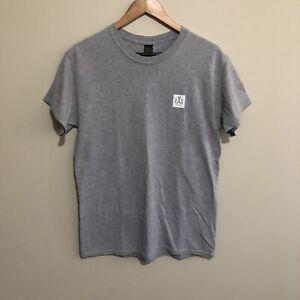 10 Deep 1X DXXP XXX USA RN 115987 Streetwear Grey Mens T-Shirt Medium