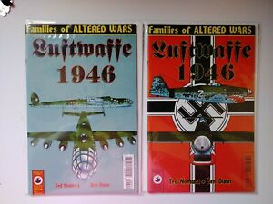 Luftwaffe 1946 #2 & 4 by Ted Nomura - Antarctic Press - January 1997 (6H)