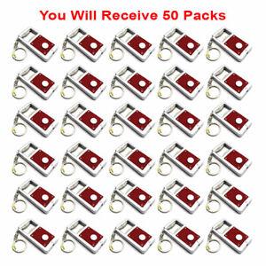 50x Keychain Keyring Mini LED Light + Bottle Opener Tool Accessory Gift USA
