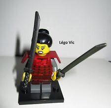 Légo 71008 Minifig Figurine Série 13 Samourai n°12 + socle