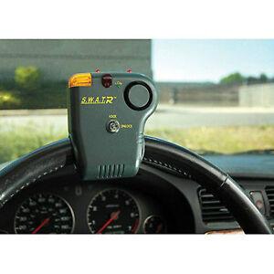 S.W.A.T. Wireless Steering Wheel Anti Theft Auto Alarm Electric Bikes w/ Remote