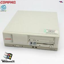 HP Compaq Ordenador Deskpro En Ens Pentium 3 III 800MHZ Windows 98 RS232
