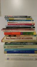 22 Gardening Books: Flowers and Container Gardening and More: Job Lot