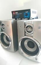 Bluetooth Enabled  Pyle Amplifier and LG Stereo Speakers Bookshelf Hi Fi System
