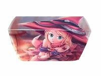 Yugioh! Dark Magician Girl Manga Witch Max Protection Deckbox Brand New Sealed!