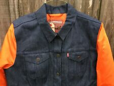 Men s Levi s NFL Chicago Bears Denim Varsity Trucker Jacket Size 2xl  212300003 36d27ce73