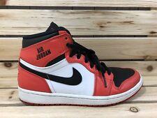 Nike Air Jordan 1 Retro High Rare Air Orange/White 332550-800 Men's Size 8.5