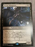 1x DOOM WHISPERER *PROMO* MTG GRN - MT/NM Pack Fresh COMMANDER EDH Mythic