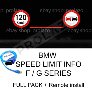 BMW SLI speed limit info F / G series FULL PACK (parts + remote coding) KAFAS