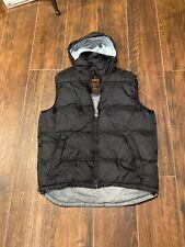 Schott Nyc Vest, Army Type Garment, Large , Black
