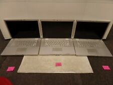 """Lot of 3 MacBook Pro 15"""" A1260, A1226, A1211 Originals **AS IS FOR PARTS ONLY**"""