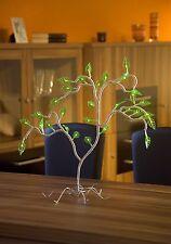 Konstsmide 4074-903 LED Baum Blätter grün beleuchtet 30 LEDS 46x37cm