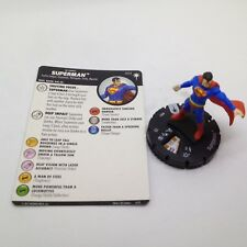 Heroclix DC Elseworlds set Superman #002 Common figure w/card!