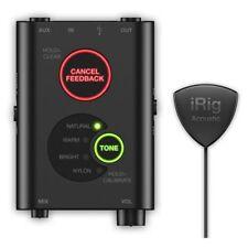 IK Multimedia iRig Acoustic Stage Digital Microphone Preamp DSP Unit for Guitars