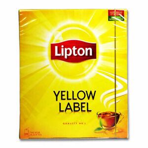 4 X 100 Lipton Schwarztee Teebeutel Yellow Label Tee Tea.Quality No.1 Rich Taste