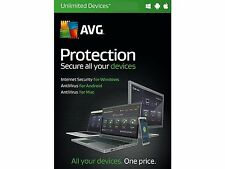 AVG Protection - Protect UNLIMITED Devices from Hackers (Internet Security)