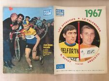 CICLISMO NUMERO SPECIALE STAGIONE 1967 MIROIR  CYCLISME POSTER DELISLE- ANQUETIL