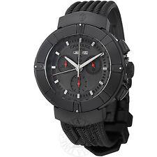 Charriol Men's Celtica Black Rubber Strap Chronograph Quartz Watch C44BM173004