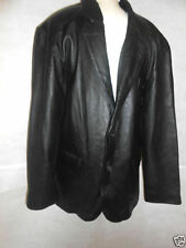 Hip Length Leather Blazers Unbranded Coats & Jackets for Men