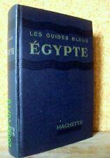 """EGYPTE"" Guide Bleu Egypt Agypten Afrique du Nord 1956 !"