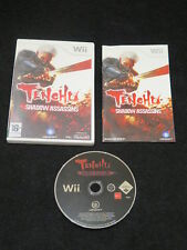 WII : TENCHU : SHADOW ASSASSINS - Completo, ITA ! Compatibile con Wii U