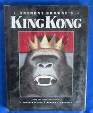 1994 ANTHONY BROWNE'S KING KONG by Edgar Wallace HC/DJ VF Turner
