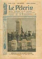 Bénediction WWI Poilus Calvaire Souain en Champagne France 1919 ILLUSTRATION