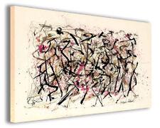 Quadro moderno Jackson Pollock vol V stampa su tela canvas arredamento poster