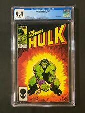 Incredible Hulk #307 CGC 9.4 (1985) - Klaatu app