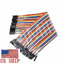 40pcs 20cm 2.54mm Female to Female Dupont Wire Jumper Cable Arduino Breadboad