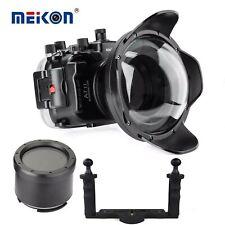 Meikon 40M Unterwasser Kamera Gehäuse für Sony A7 II A7R II A7S II w/ Dome Port