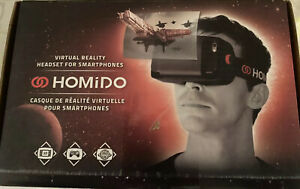 Homido Virtual Reality Headset For Smartphones (New)