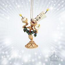 Ooh La La Schöne & Biest Jim Shore Disney Ornament Lumier Kerzenleuchter A21430